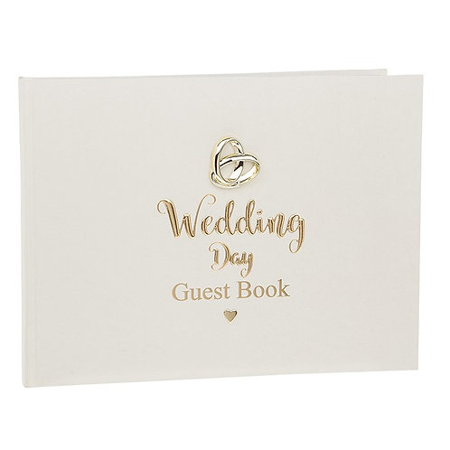 Bands of Gold Wedding Day Guestbook