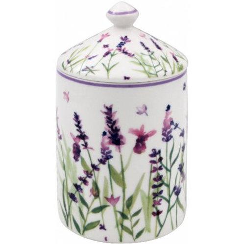 Purple Lavender Jar Candle