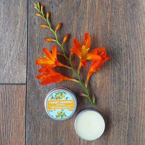 The Moher Soap Co Natural Lip Balm-Sweet Orange