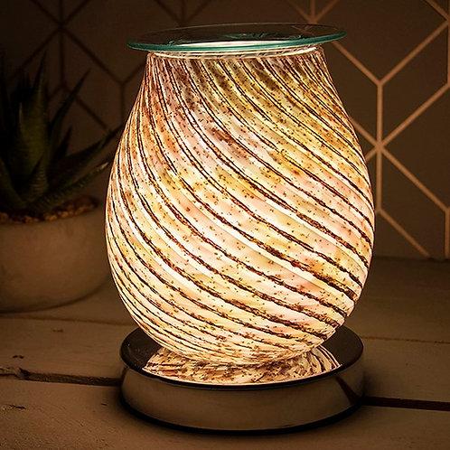 Desire Aroma Lamp Glass Swirl