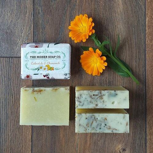 The Moher Soap Co Natural Soap Bar Calendula & Chamomile