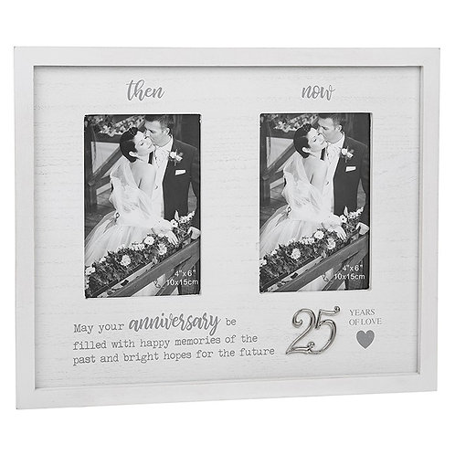 Then & Now Anniversary Frame