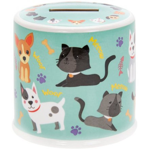 Little Stars Cats & Dogs Money Box