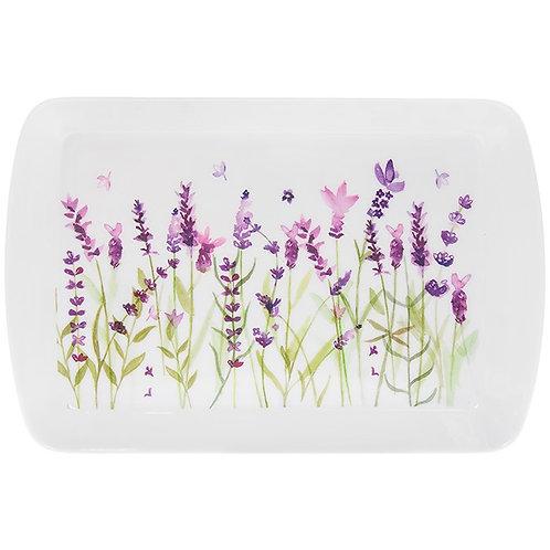 Purple Lavender Small Snack Tray