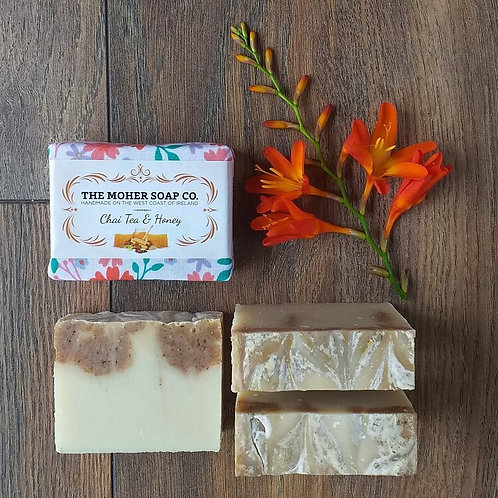 The Moher Soap Co Natural Soap Bar Chai Tea & Honey