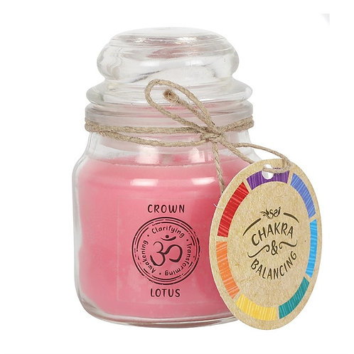 9cm Crown Chakra Scented Candle
