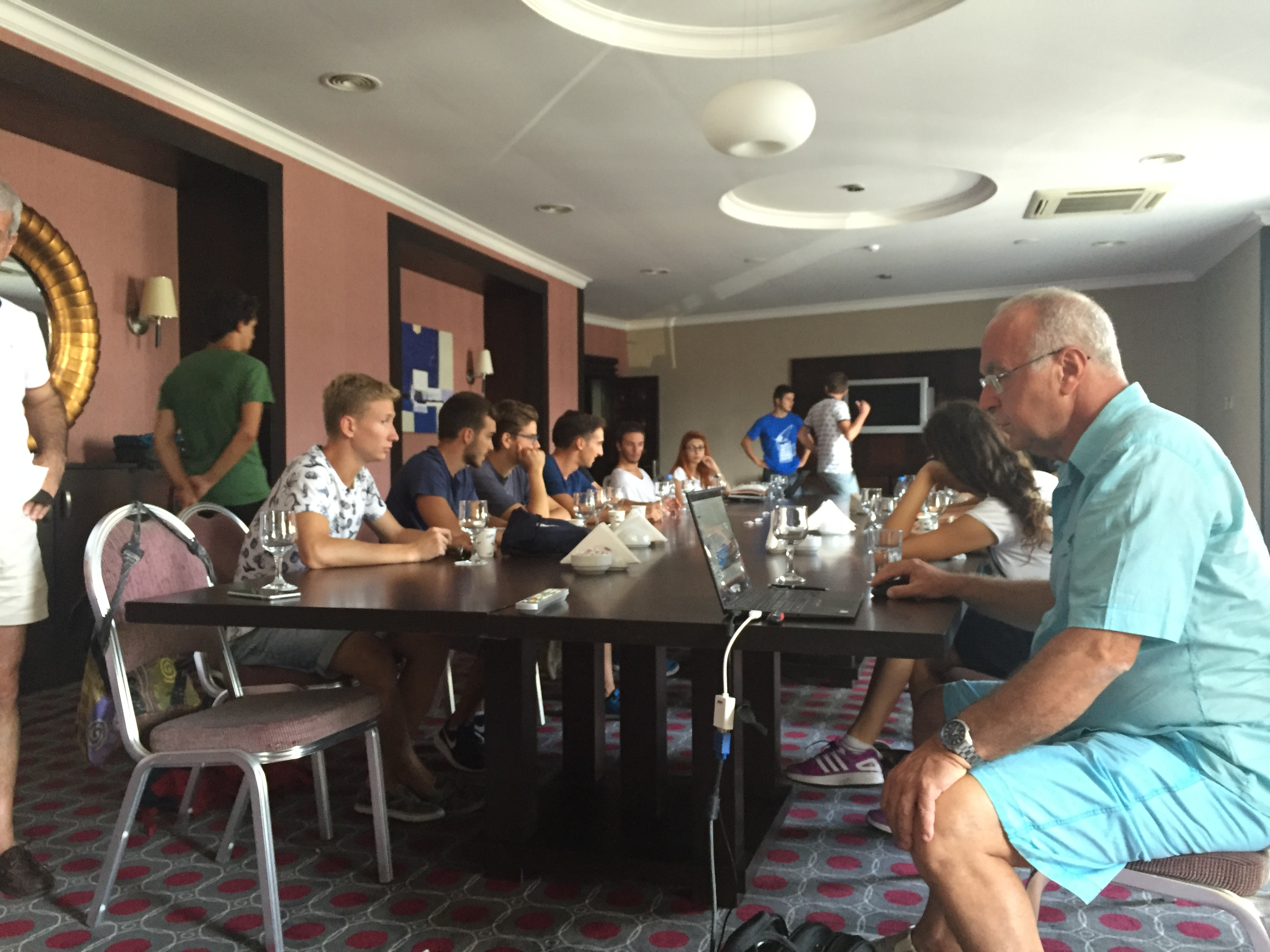 Training of trainers in Marmaris