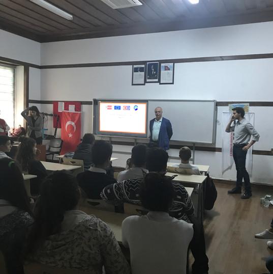 TROYO Projesi Aralık 2017, Bodrum eğitim aktivitesi / TROYO Project Bodrum December 2017 Training Event