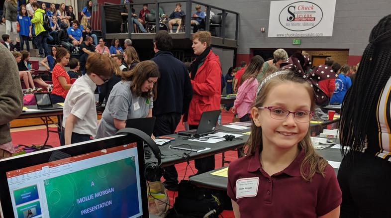 Tech Fair Winner, Mollie