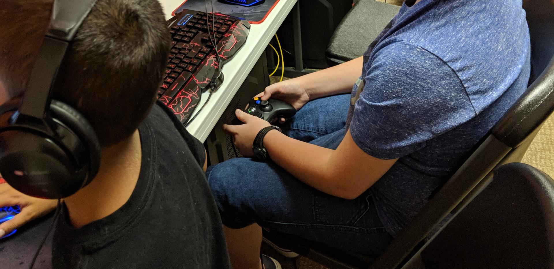 Students Gaming
