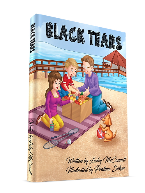 Black Tears HARDCOVER BOOK