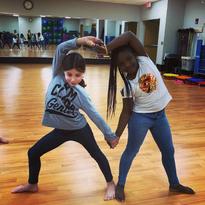 Kids Acro at Jewish Community Center, Rochester NY