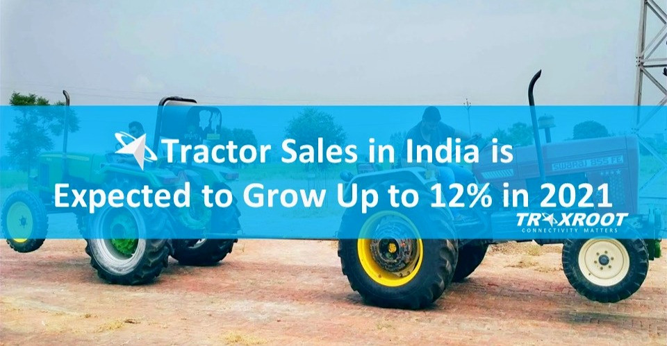 Tractor Sales in India is expected to Grow Up to 12% in 2021. Know Top 4 Reasons