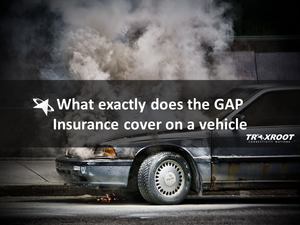 What does GAP insurance cover on a vehicle