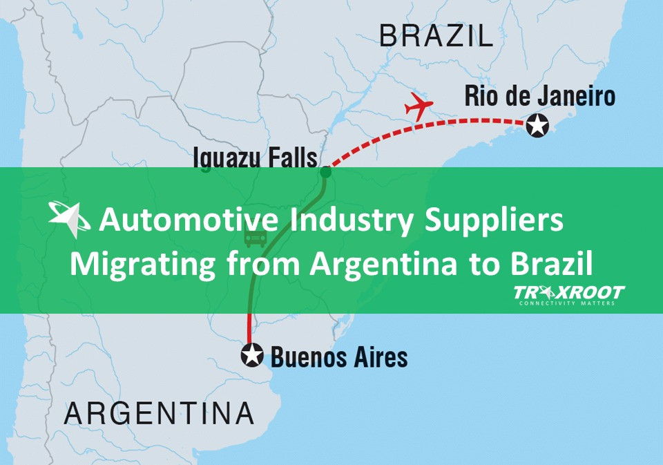 Automotive Industry suppliers migrating from Argentina to Brazil