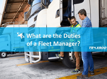 What are the Top 6 Duties of a Fleet Manager?