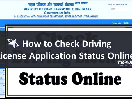 How to Check Driving License Application Status Online in India?