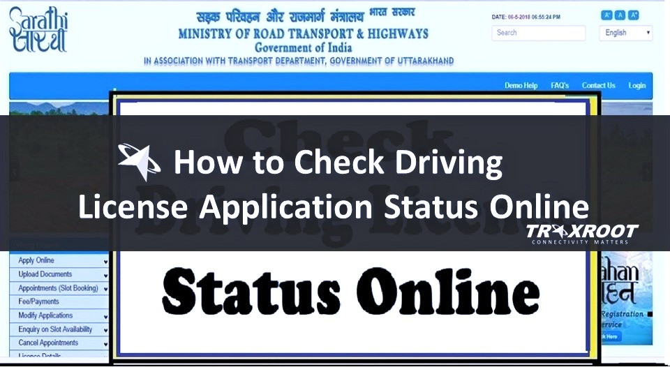 How to Check Driving License Application Status Online?