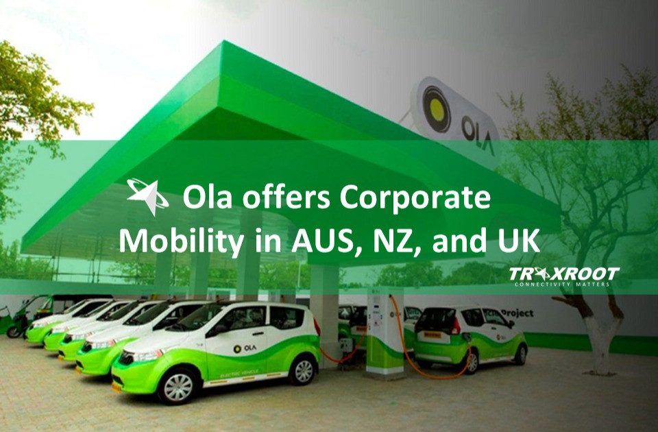 Ola offers Corporate Mobility in AUS, NZ, and UK