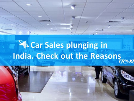 Top Reasons for Car Sales plunging in India