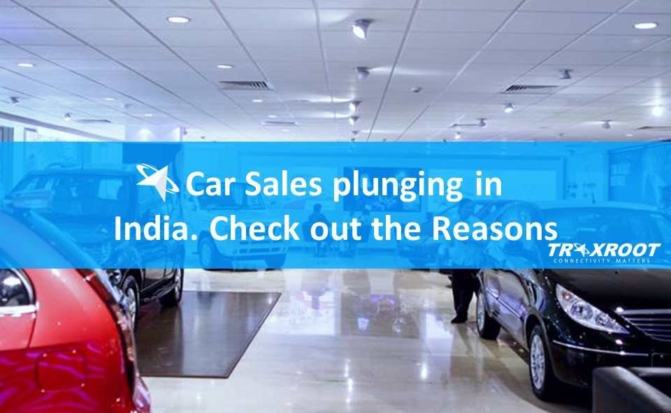 Car Sales plunging in India. Check out the Reasons