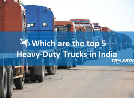 Which are the Top 5 Heavy-Duty Trucks in India