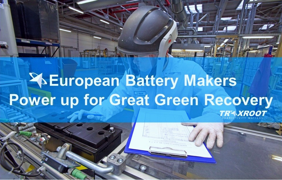 European Battery Makers Power up for Great Green Recovery