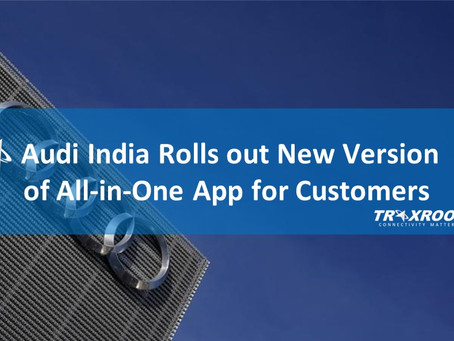 Audi India Rolls out New Version of All-in-One App for Automotive Customers