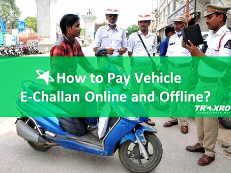 How to Pay Vehicle E-Challan Online and Offline in India?