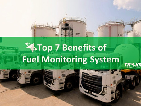 Top 7 Benefits of Fuel Monitoring System