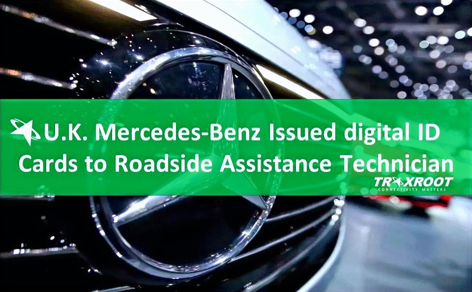 U.K. Mercedes-Benz Issued digital ID Cards to Roadside Assistance Technician