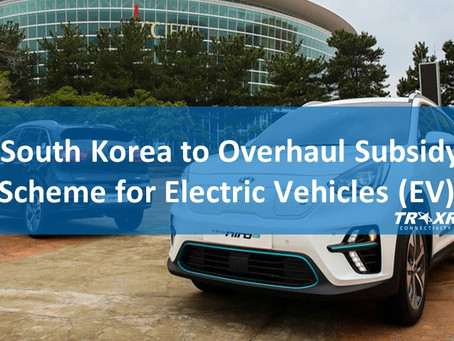 South Korea to Overhaul Subsidy Scheme for Electric Vehicles (EV)