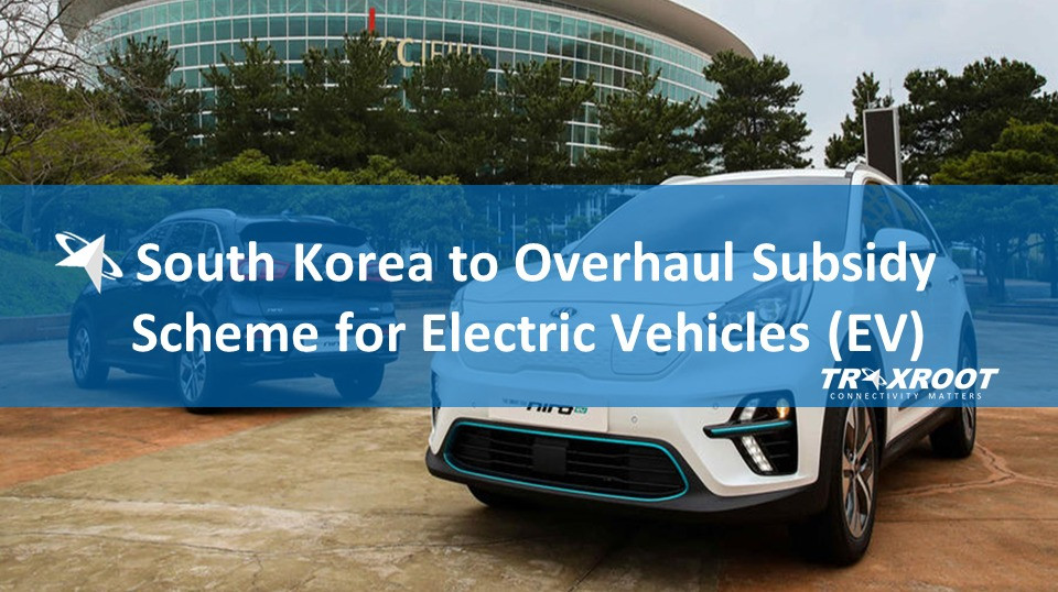 South Korea to Overhaul Subsidy Scheme for Electric Vehicles