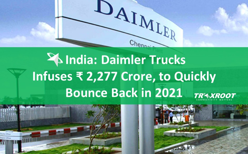 Daimler Trucks Infuses Rs 2,277 Crore in India, to Quickly Bounce Back in Demand in 2021