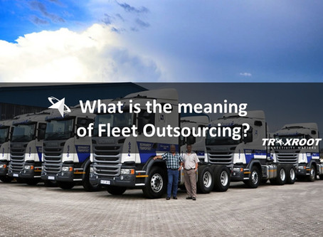 What is the Meaning of fleet Outsourcing?