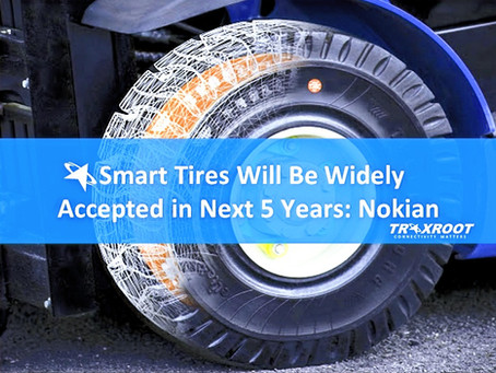 Smart Tires Will Be Widely Accepted in Next Five Years: Nokian
