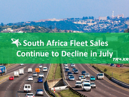 South Africa Fleet Sales Continue to Decline in July 2020