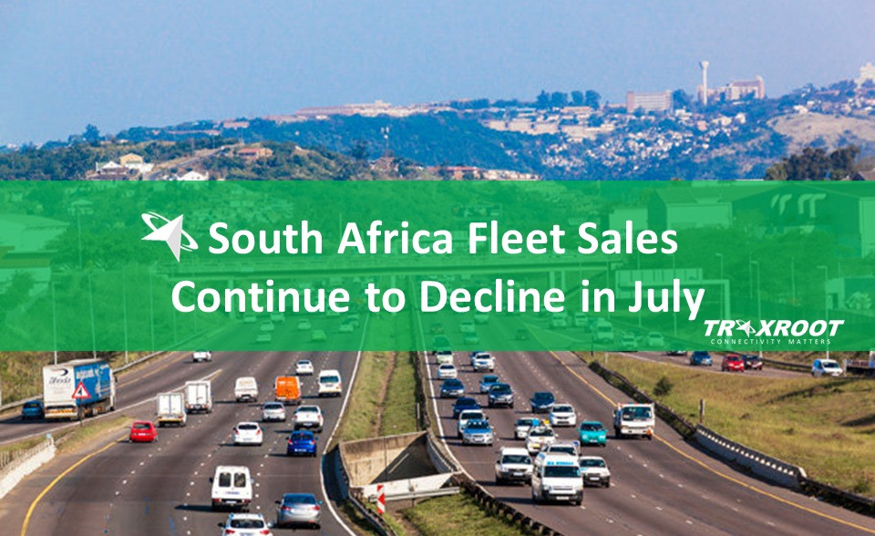 South Africa Fleet Sales Continue to Decline in July