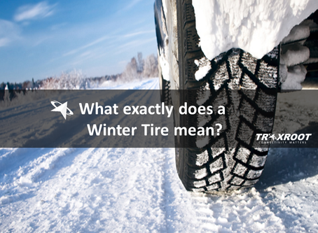 What exactly does a Winter Tire Mean?