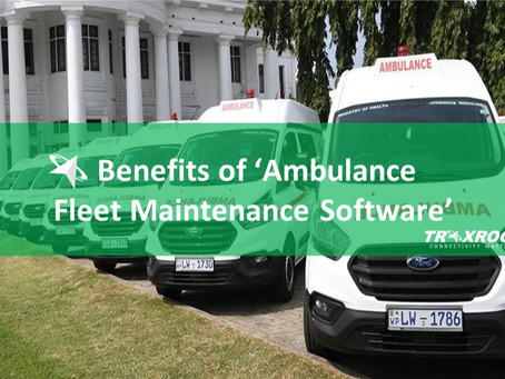 Benefits of Ambulance Fleet Maintenance Software