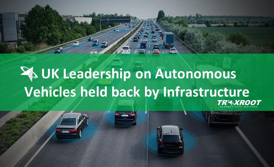 UK Leadership on Autonomous Vehicles held back by Infrastructure said KPMG