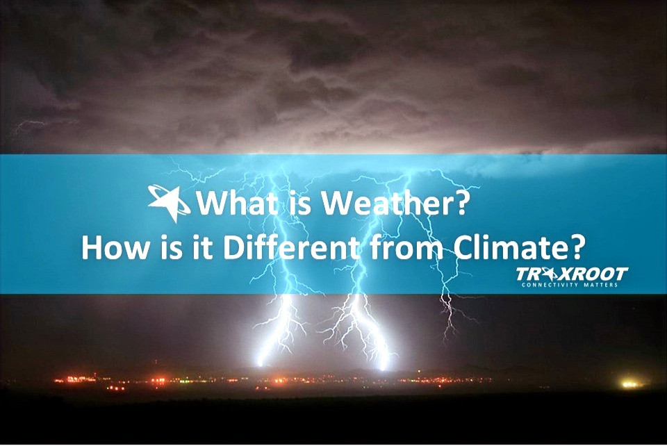 What is Weather? How is it Different from Climate?