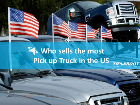 Who Sells the Most Pick up Trucks in the US?