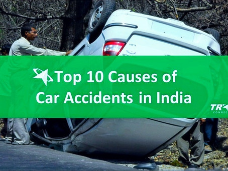 Top 10 Causes of Car Accidents in India