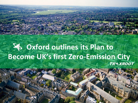 Oxford outlines its Plan to become UK's first Zero- Vehicle Emission City