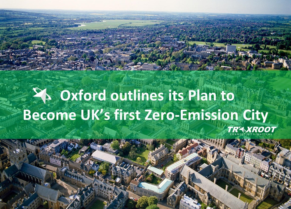 Oxford outlines its Plan to become UK's first Zero-Emission City