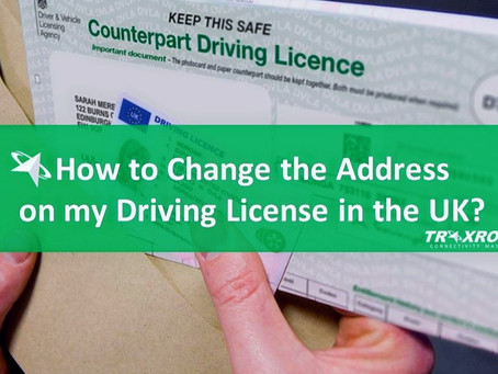 How to Change the Address on my Driving License in the UK? Is it Free?