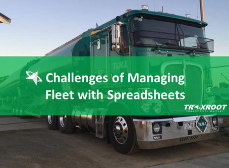 What are the Challenges of Managing Fleet with Spreadsheets?