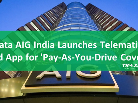 Tata AIG India Launches Telematics-Based App for 'Pay-As-You-Drive Coverage