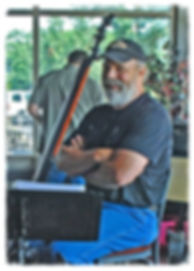 Bob Pallansch, bass guitarist in Cedar Creek Band